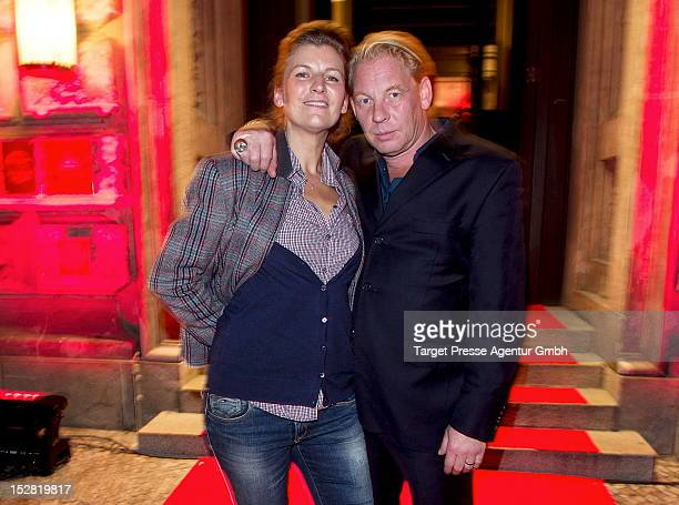 Actor Ben Becker and his wife Anne Seidel attend the Vodafone Night at Hotel de Rome on September 26 2012 in Berlin Germany