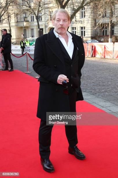 Actor Ben Becker attends at the 'Der Gleiche Himmel' premiere during the 67th Berlinale International Film Festival Berlin at Haus Der Berliner...