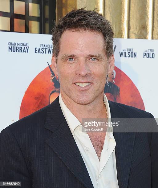 """Actor Ben Browder arrives at the Los Angeles Premiere """"Outlaws And Angels"""" at Ahrya Fine Arts Movie Theater on July 12, 2016 in Beverly Hills,..."""