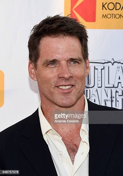 """Actor Ben Browder arrives at the premiere of Momentum Pictures' """"Outlaws and Angels"""" at the Ahrya Fine Arts Movie Theater on July 12, 2016 in Beverly..."""