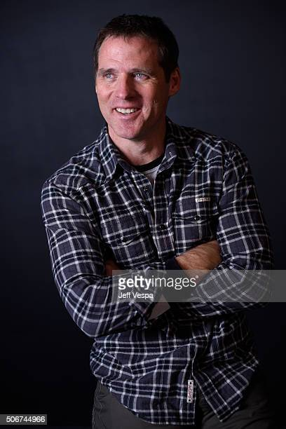 """Actor Ben Browder from the film """"Outlaws and Angels"""" poses for a portrait during the WireImage Portrait Studio hosted by Eddie Bauer at Village at..."""