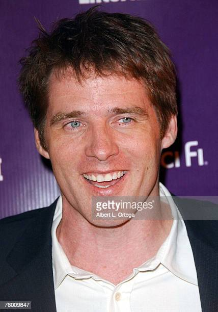 """Actor Ben Browder of """"Stargate SG-1"""" attends the Entertainment Weekly and the Sci-Fi Channel 2007 Comic Con Party on July 27, 2007 at the Hotel..."""