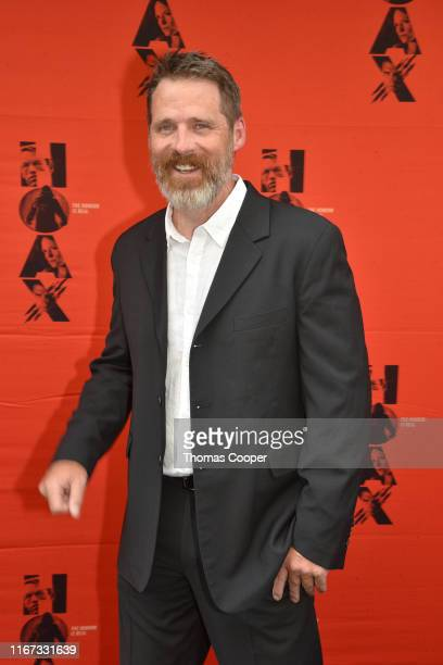 Actor Ben Browder on the red carpet for the movie HOAX Premiere at Sie FilmCenter on August 10, 2019 in Denver, Colorado.
