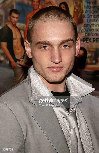 Actor Ben Curtis attends the Games People Play Film Premiere and After Party at the Chelsea Clearview Cinema on March 9 2004 in New York City