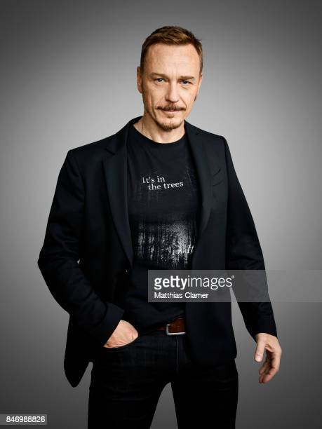 Actor Ben Daniels from 'Exorcist' is photographed for Entertainment Weekly Magazine on July 22 2016 at Comic Con in the Hard Rock Hotel in San Diego...