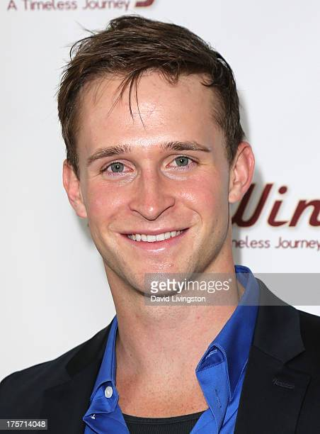 """Actor Ben Davies attends a screening of Integrity Film Production's """"Red Wing"""" at Harmony Gold Theatre on August 6, 2013 in Los Angeles, California."""