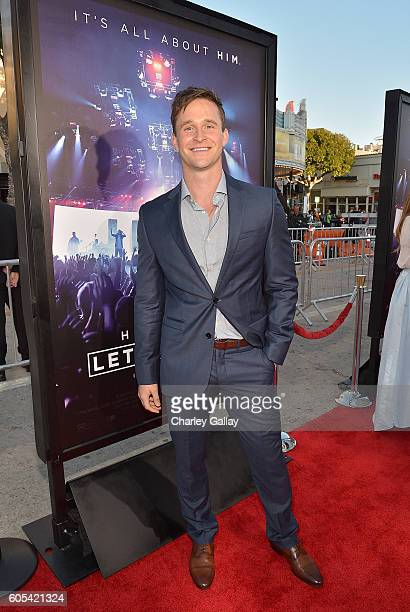"""Actor Ben Davies attends the """"Hillsong - Let Hope Rise"""" premiere at the Westwood Village theater on September 13, 2016 in Los Angeles, California."""