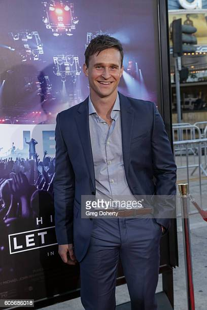 """Actor Ben Davies attends the Premiere Of Pure Flix Entertainment's """"Hillsong: Let Hope Rise"""" at the Mann Village Theatre on September 13, 2016 in..."""