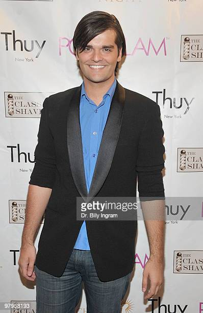 Actor Ben Decker attends the POSHGLAMCOM to benefit children of the night at the Celebrity Vault on March 22 2010 in Beverly Hills California