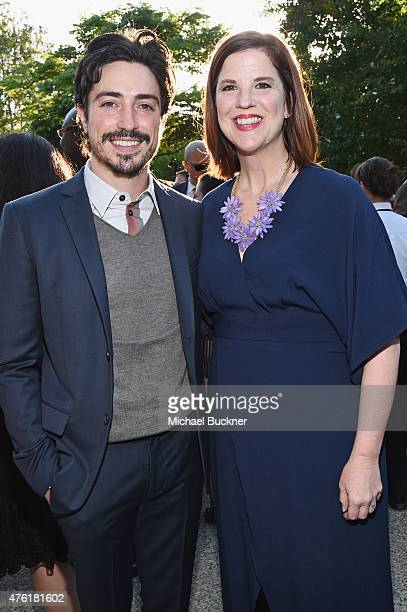Actor Ben Feldman and Elizabeth Daly VP of Development and Communications at Chrysalis attend the 14th annual Chrysalis Butterfly Ball sponsored by...