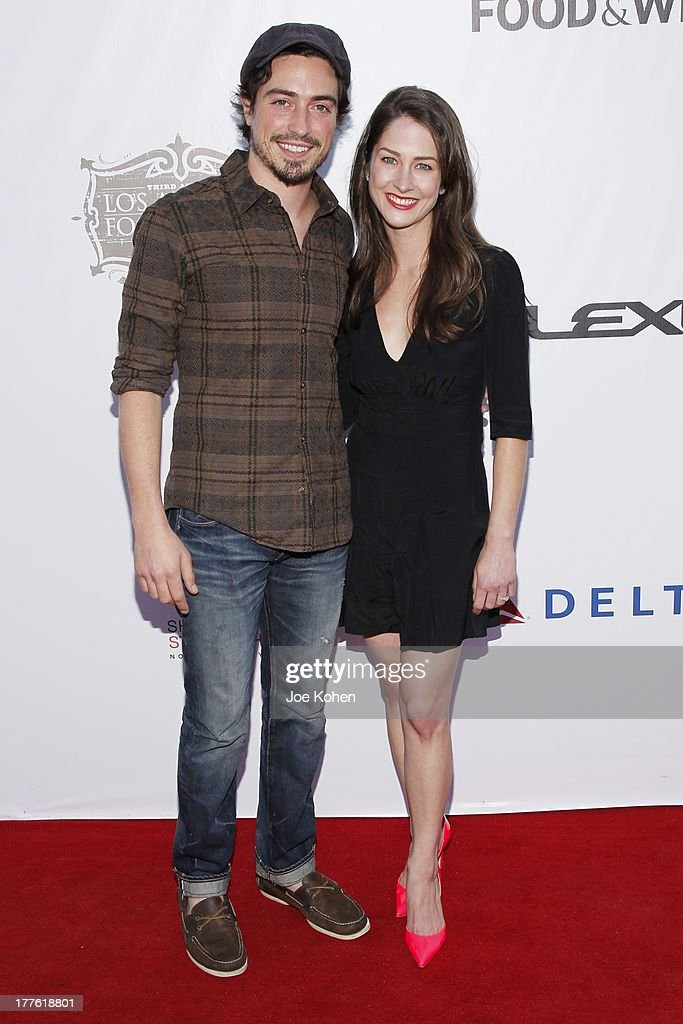 Actor Ben Feldman and Michelle Mulitz attend LEXUS Live On Grand At The 3rd Annual Los Angeles Food & Wine Festival on August 24, 2013 in Los Angeles, California.