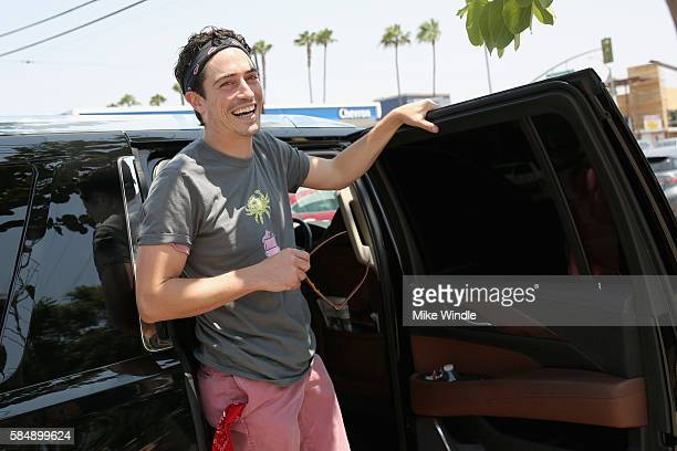 Actor Ben Feldman attends the 4th Annual Crab Cake LA fundraiser event presented by Cadillac and Agavero to benefit Chrysalis on July 31 2016 in Los...