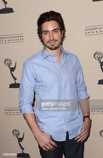 Actor Ben Feldman attends The Academy Of Television Arts Sciences' performers peer group cocktail reception held at the Sheraton Hotel on August 20...
