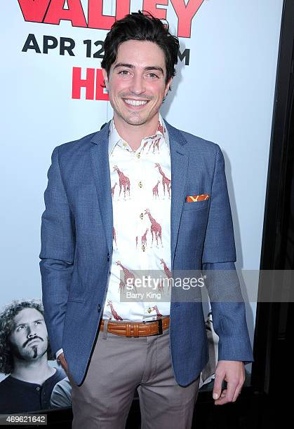 Actor Ben Feldman attends the HBO 'Silicon Valley' season 2 premiere at the El Capitan Theatre on April 2 2015 in Hollywood California