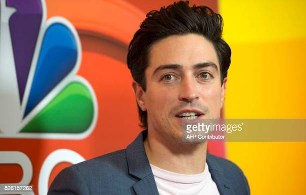 Actor Ben Feldman attends the NBC TCA Summer Press Tour 2017 on August 3 in Beverly Hills California / AFP PHOTO / VALERIE MACON