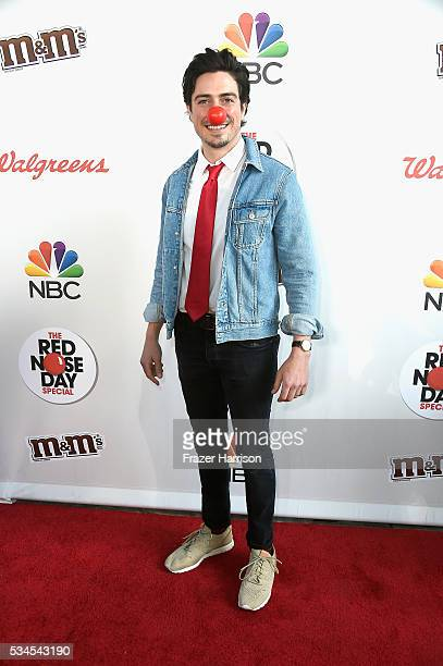 Actor Ben Feldman attends The Red Nose Day Special on NBC at Alfred Hitchcock Theater at Universal Studios on May 26 2016 in Universal City California