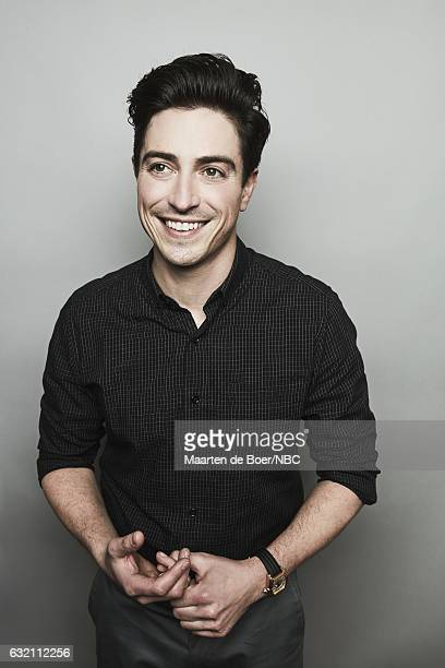 Actor Ben Feldman of 'Superstore' poses for a portrait in the NBCUniversal Press Tour portrait studio at The Langham Huntington Pasadena on January...