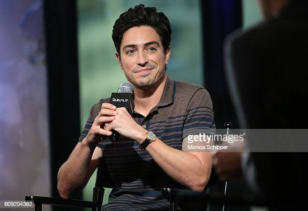Actor Ben Feldman speaks at The Build Series Presents Ben Feldman Discussing The Show Superstore at AOL HQ on September 20 2016 in New York City