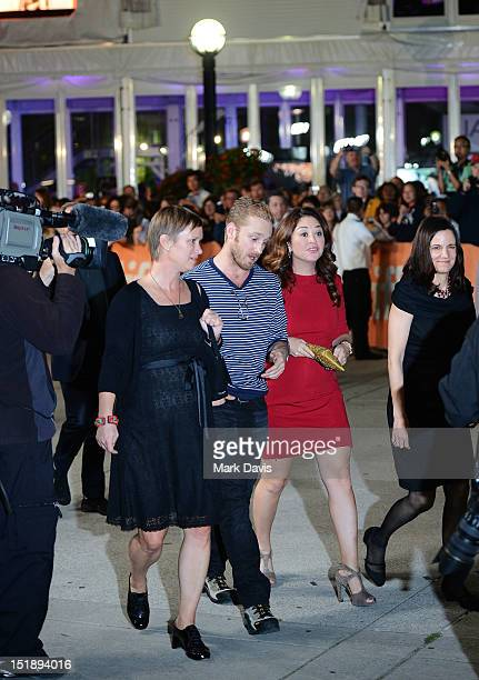 Actor Ben Foster and director Liz Garbus attend Love Marilyn premiere during the 2012 Toronto International Film Festival at Roy Thomson Hall on...