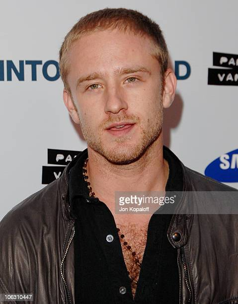 Actor Ben Foster arrives at the Los Angeles Premiere Into The Wild at the Directors Guild of America on September 18 2007 in West Hollywood California