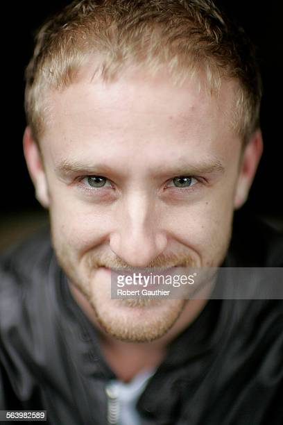 Actor Ben Foster at his Venice Ca home Monday October 15 2007