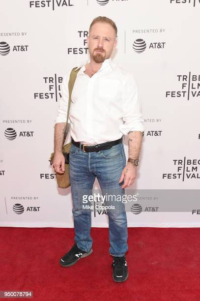 Actor Ben Foster attends a screening of 'Diane' during the 2018 Tribeca Film Festival at SVA Theatre on April 22 2018 in New York City