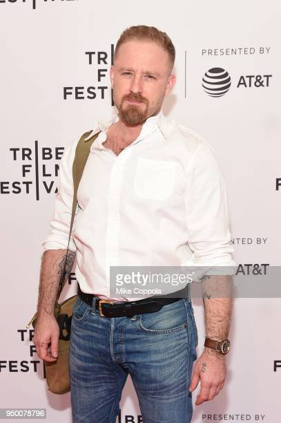 Actor Ben Foster attends a screening of Diane during the 2018 Tribeca Film Festival at SVA Theatre on April 22 2018 in New York City