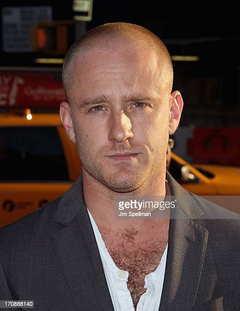 Actor Ben Foster attends BAMcinemaFest 2013 And The Cinema Society Host The Opening Night Premiere Of Ain't Them Bodies Saints at BAM Harvey Theater...
