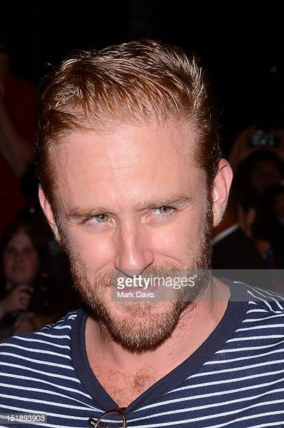 Actor Ben Foster attends Love Marilyn premiere during the 2012 Toronto International Film Festival at Roy Thomson Hall on September 12 2012 in...