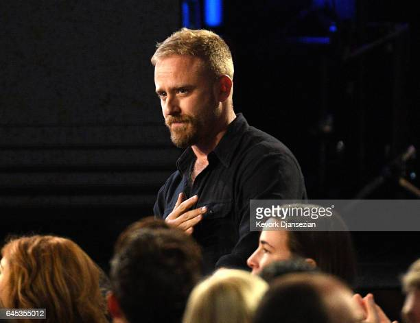 Actor Ben Foster attends the 2017 Film Independent Spirit Awards at the Santa Monica Pier on February 25 2017 in Santa Monica California