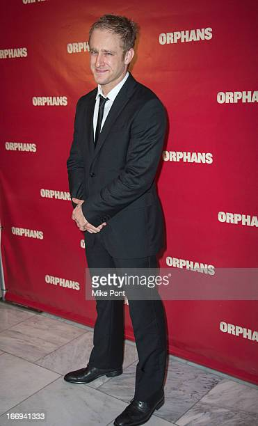 Actor Ben Foster attends the after party for the Orphans Broadway opening night at Espace on April 18 2013 in New York City