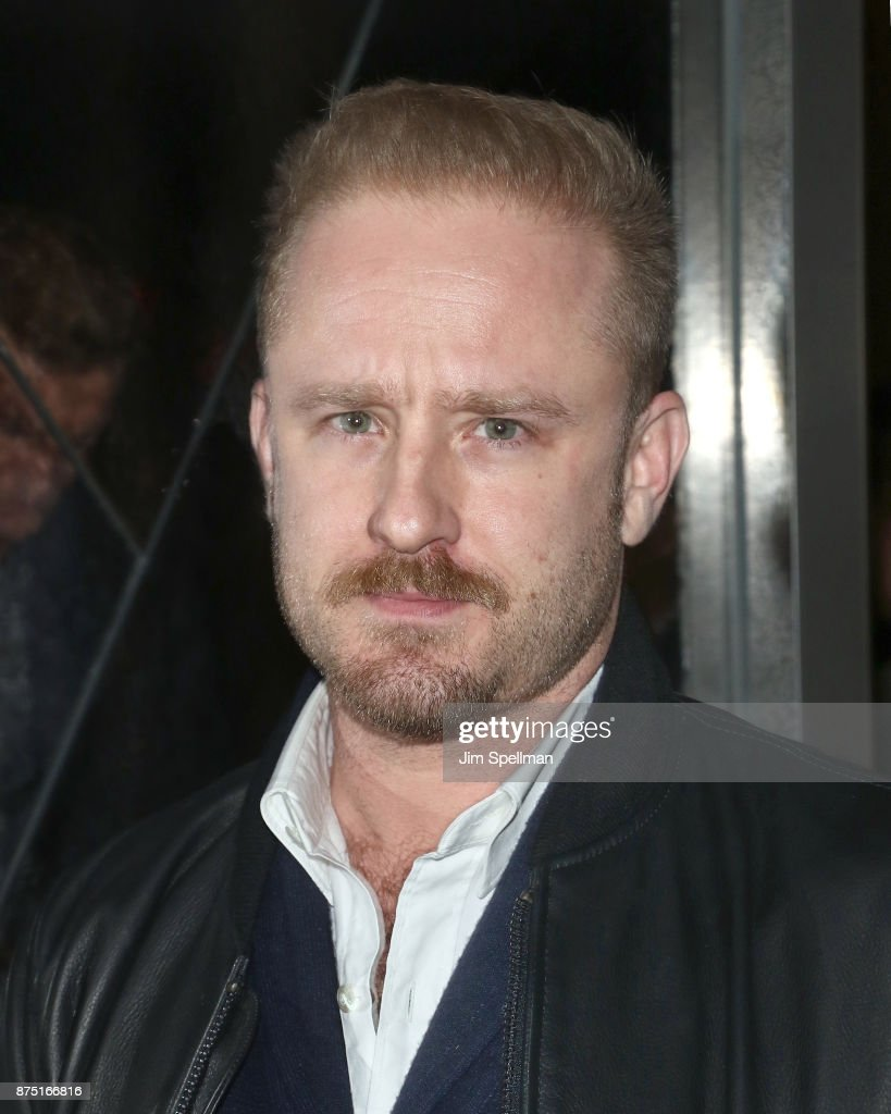 Actor Ben Foster attends the after party for the screening of Sony Pictures Classics' 'Call Me By Your Name' hosted by Calvin Klein and The Cinema Society at Bar SixtyFive on November 16, 2017 in New York City.