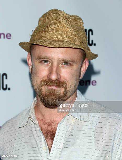 Actor Ben Foster attends the 'Julius Caesar' opening night at Delacorte Theater on June 12 2017 in New York City