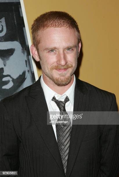Actor Ben Foster attends The Messenger Premiere at Clearview Chelsea Cinemas on November 8 2009 in New York City