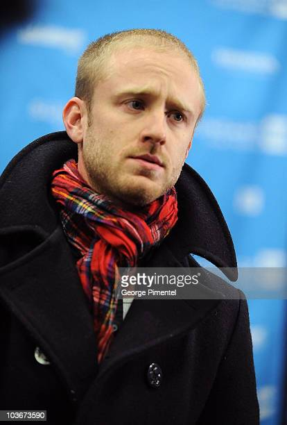 Actor Ben Foster attends the premiere of 'The Messenger' during the 2009 Sundance Film Festival at Eccles Theatre on January 19 2009 in Park City Utah