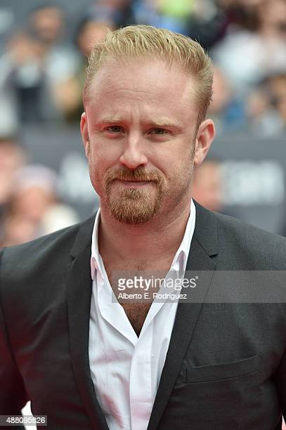 Actor Ben Foster attends The Program premiere during the 2015 Toronto International Film Festival at Roy Thomson Hall on September 13 2015 in Toronto...
