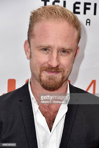 Actor Ben Foster attends 'The Program' premiere during the 2015 Toronto International Film Festival at Roy Thomson Hall on September 13 2015 in...