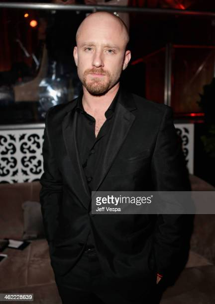 Actor Ben Foster attends The Weinstein Company Netflix's 2014 Golden Globes After Party presented by Bombardier FIJI Water Lexus Laura Mercier Marie...