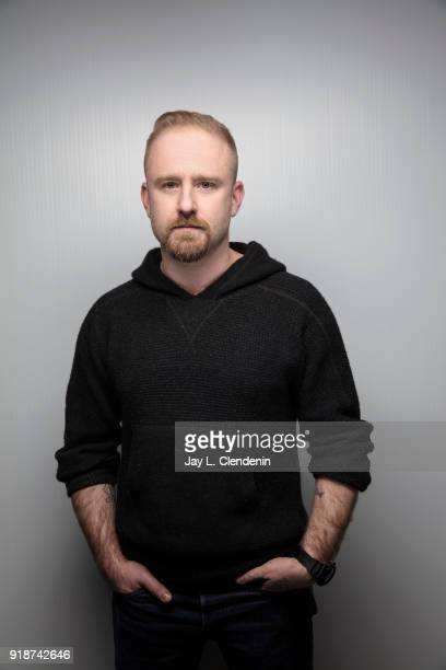Actor Ben Foster from the film 'Leave No Trace' is photographed for Los Angeles Times on January 21 2018 in the LA Times Studio at Chase Sapphire on...