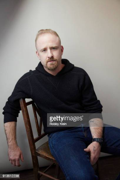 Actor Ben Foster from the film 'Leave No Trace' poses for a portrait in the YouTube x Getty Images Portrait Studio at 2018 Sundance Film Festival on...