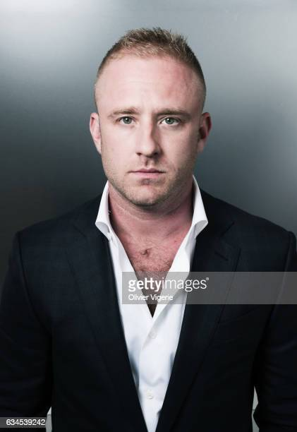 Actor Ben Foster is photographed for Cinemateaser on May 20 2016 in Cannes France