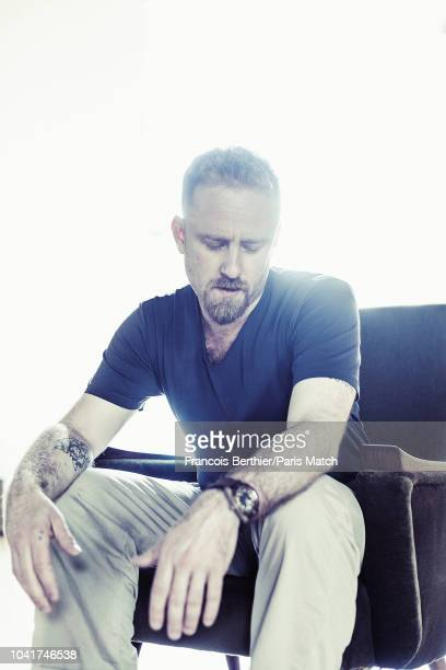 Actor Ben Foster is photographed for Paris Match on May 15 2018 in Cannes France