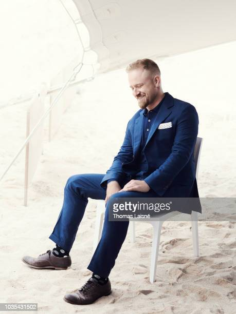Actor Ben Foster is photographed for Self Assignment on May 2018 in Cannes France
