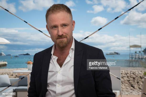 Actor Ben Foster is photographed for The Hollywood Reporter on May 2018 in Cannes France