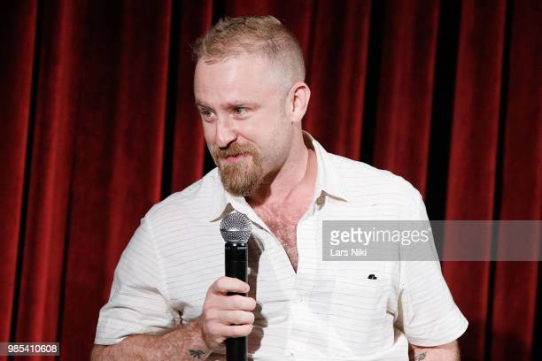 Actor Ben Foster on stage during The Academy of Motion Picture Arts and Sciences official academy screening of Leave No Trace at The Museum of Modern...