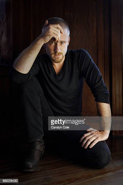 Actor Ben Foster poses for a portrait session for the Los Angeles Times on October 6 2009 Published Image CREDIT MUST READ Carolyn Cole/Los Angeles...