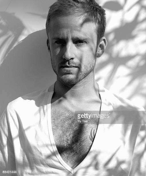 Actor Ben Foster poses for a portrait session in Los Angeles for Interview on October 14 2007