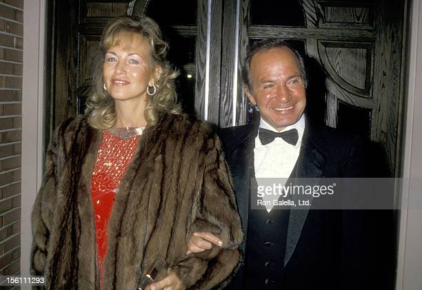 Actor Ben Gazzara and wife Elke Krivat attend the Monterey Film Festival's First Annual Golden Cypress Award Honoring James Stewart on February 21...