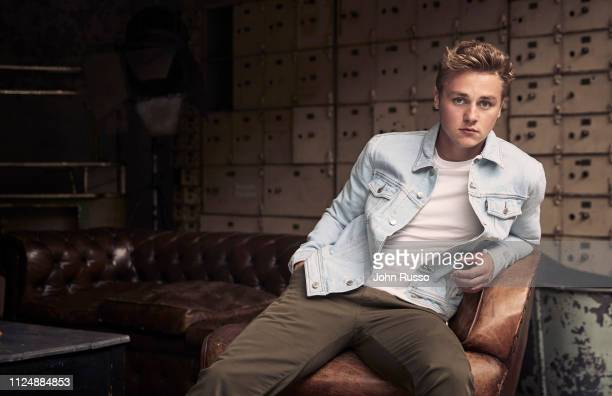 Actor Ben Hardy is photographed for 20th Century Fox on June 14 2018 in London England