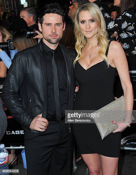 Actor Ben Hollingsworth and Nila Myers attend the Premiere of Paramount Pictures' xXx Return of Xander Cage at TCL Chinese Theatre IMAX on January 19...